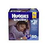 Your baby is sleeping through the night. Now you need a diaper that can help outlast leaks until morning. Try one of the top selling overnight diapers for over ten years – Huggies Overnites Diapers offer up to 12 hours of leak protection, helping y...