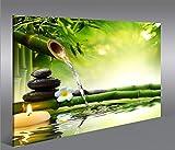 Impression-sur-toile-Wasser-Zen-V3-1p-Image-sur-toile-Images-Photo-Tableau-Tableaux-dco-murale