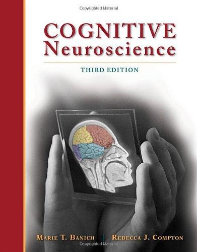 Cognitive Neuroscience (PSY 381 Physiological Psychology)
