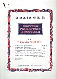 img - for British Folk Music Settings: Country Gardens (For Piano Solo - Original Version) book / textbook / text book