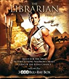 The Librarian Trilogy - 3-Disc Set ( The Librarian: Quest for the Spear / The Librarian: Return to King Solomons Mines / The Librarian: The Curse of the Judas Chalice ) ( The Libr [ Blu-Ray, Reg.A/B/C Import - Netherlands ]