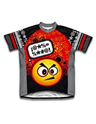 Angry Thinker Short Sleeve Cycling Jersey for Women