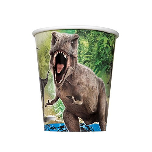 Jurassic World 9oz Cup 8ct [Contains 5 Manufacturer Retail Unit(s) Per Amazon Combined Package Sales Unit] - SKU# 48326