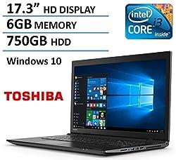 2016 New Edition Toshiba Satellite 17.3
