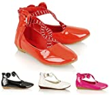 NEW GIRLS KIDS DIAMANTE BRIDESMAID WEDDING SHOES CASUAL PROM PARTY SANDALS