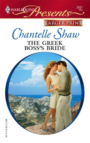 Image for The Greek Boss's Bride (Harlequin Presents: Greek Tycoons)