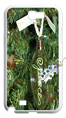samsung note 2 N7100 Cute Light bulb Design Fashion Case Back Cover Metal and Hard Plastic Case-Clear Frame. (Fashion Lightbulbs compare prices)