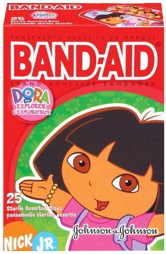 band-aid-brand-adhesive-bandages-dora-the-explorer-decorated-bandages-25-count-bandages-pack-of-8-by