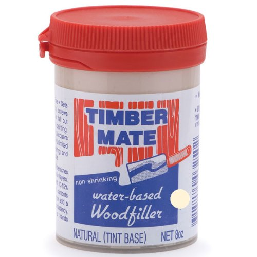 Timbermate Wood Filler, Water Based, 8Oz, Natural