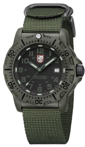 Luminox Black OPS Carbon Green Watch 8817GO