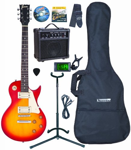Encore EBP-P29SBOFT Sunburst Electric Guitar Outfit