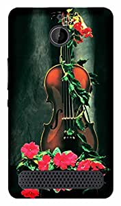 TrilMil Printed Designer Mobile Case Back Cover For Sony Xperia E1