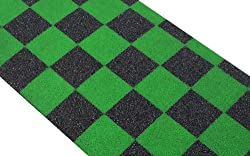 Scooter Grip Tape Green Checkers