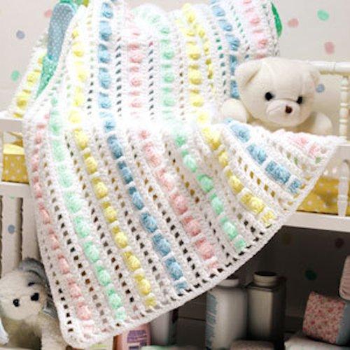 Goody Gumdrops Baby Blanket Crochet ePattern PDF