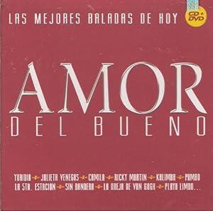 """Amor Del Bueno """"Las Mejores Baladas De Hoy """" Cd+dvd """" 100 Anos De Musica """"Varios Artistas 18 Canciones Y 17 Videos """""""