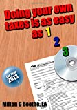 img - for Doing Your Own Taxes is as Easy as 1, 2, 3. book / textbook / text book