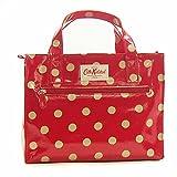 (キャスキッドソン) Cath Kidston バッグ ボックスバッグ Original box bag oc button spot 416870 Cranberry[並行輸入品]
