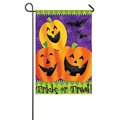 Pumpkins TGarden Flag