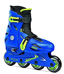 Roces Kid's Orlando Fitness Inline Skates Rollerblade 400687 (Blue/Lime 4-7)
