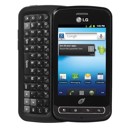 Cheap Straight Talk Android LG Optimus Q Prepaid Slider Cell Phone