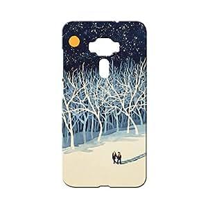 BLUEDIO Designer Printed Back case cover for Asus Zenfone 3 - G5438