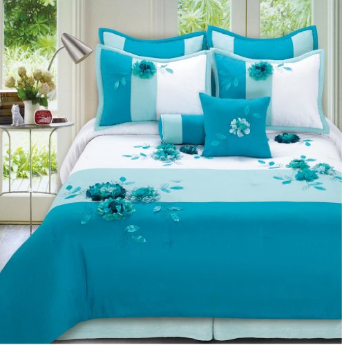 New  Piece King Arielle Bedding Bed in a Bag Set