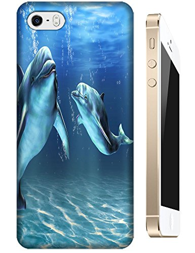 Mother and Bany Dolphin Cartoon design cell phone cases for Apple Accessories iPhone 4/4S