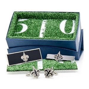New Orleans Saints 3-Piece Gift Set by Cufflinks