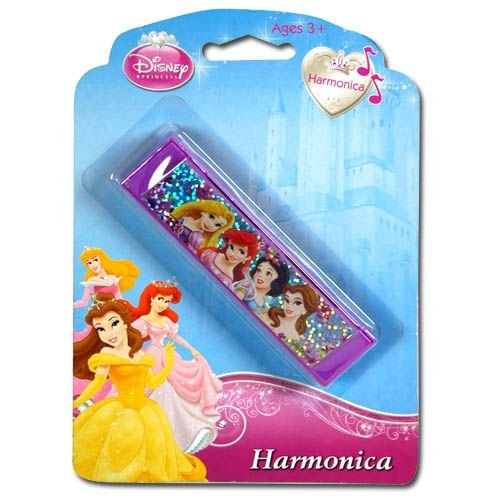 Disney Princess Harmonica on a Blister Card