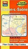 echange, troc Plans Blay Foldex - Plan de ville : Chalon-sur-Saône (avec un index)