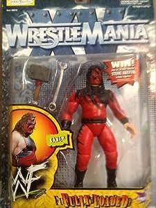 WWF WWE Wrestlemania XV Kane Fully Loaded Figure
