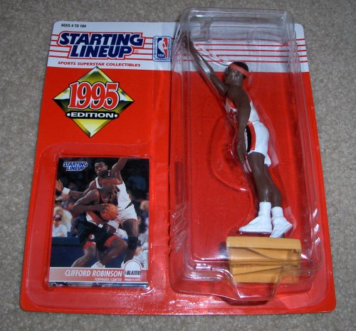 1995 Clifford Robinson NBA Starting Lineup [Toy] - 1