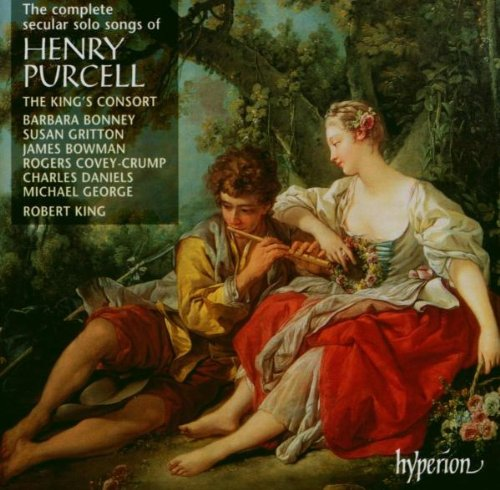 Purcell: The Complete Secular Songs by Henry Purcell, Robert King, King's Consort, Michael George and James Bowman