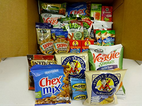 Healthy Snacks In-a-box, College, Work, On the