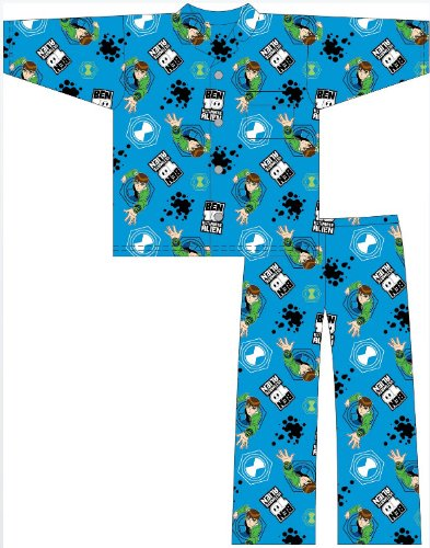 New Boys Ben10 Ben 10 Warm Wyncette Cotton Cartoon Character Pyjamas pajama Sleepwear Nightwear. To Fit Ages 3-4 / 5-6 / 7-8 / 9-10 Years