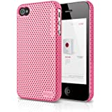 elago S4 Breathe2 Case for AT&T, Sprint / Verizon iPhone 4/4S (Hot Pink) - ECO PACK
