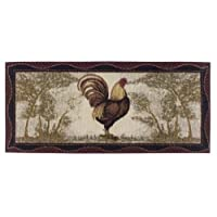 Washable Non-Skid Rooster Kitchen Mat/Rug 20