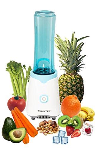 HOME Essentials - Smoothie Maker SMO-9943 [Inkl. 2 Sportflaschen à 600 ml, auch für Eis geeignet, max. 250 Watt]