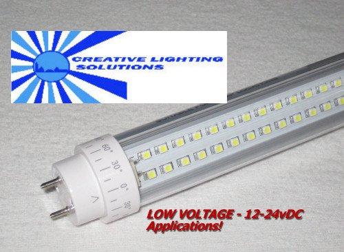 Smd Led T10 Tube Light, 2 Ft, Day White, 10W, 160Led, 12V-24Vdc!