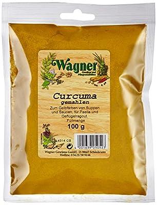 Wagner Gewürze Curcuma (Kurkuma) gemahlen, 3er Pack (3 x 100 g) von Wagner Gewürze auf Gewürze Shop