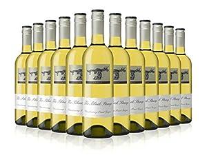 Australian White Wine - Black Stump Chardonnay Pinot Grigio (Case of 12)