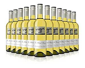 Australian White Wine - Black Stump Chardonnay Pinot Grigio (Case of 12)