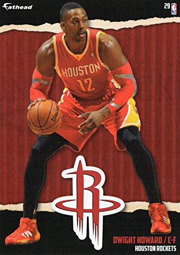 2014-2015 NBA Dwight Howard Houston Rockets Fathead Tradeable