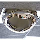 "Relius Solutions Drop-In Panoramic Dome Mirror - For Use With 24X24"" Ceiling Tiles - 24x24"""