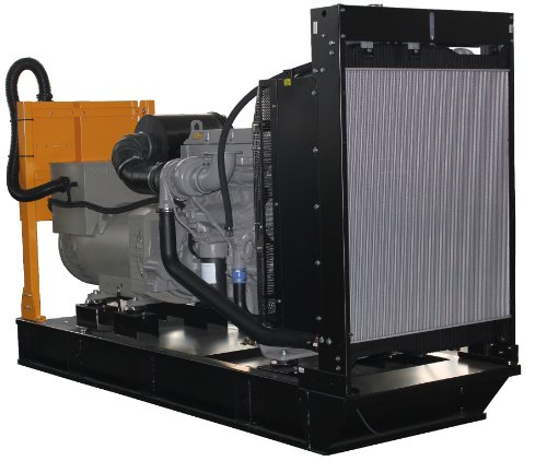 600Kw Perkins Powered Open Diesel Generator