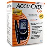 Accu Chek Go Glucose Monitor Only (No Free Strip) Diabetes Testing Kit Care Managment Men Women Adult Senior Person...