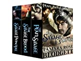 The Savage Series: Box Set (Pearl, Blood and Principle) (Dark Post-Apocalyptic Romance)