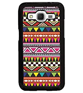PrintDhaba Pattern D-5168 Back Case Cover for SAMSUNG GALAXY CORE PRIME (Multi-Coloured)