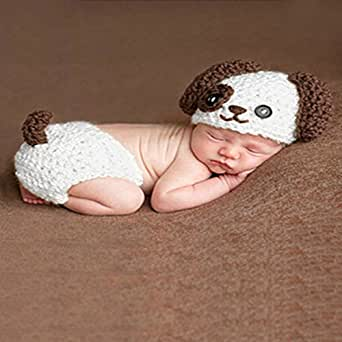 W8 Crochet Baby Infant Costume Photo Photography Prop