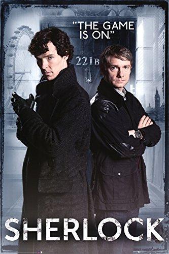 Sherlock - Door Poster 24 x 36in